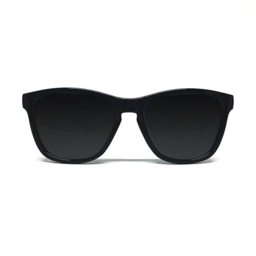 svarte wayfarer solbriller
