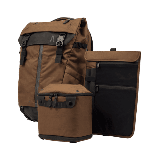 PRIMA SYSTEM MODULAR TRAVEL BACKPACK