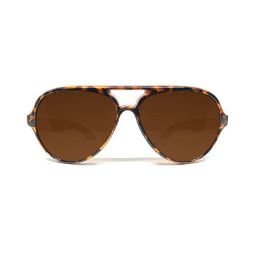 Solbriller leopardmønster