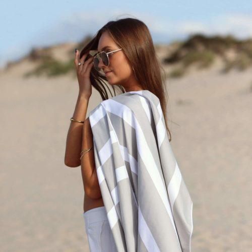 SummerSand Strandhåndklær Marble Sand