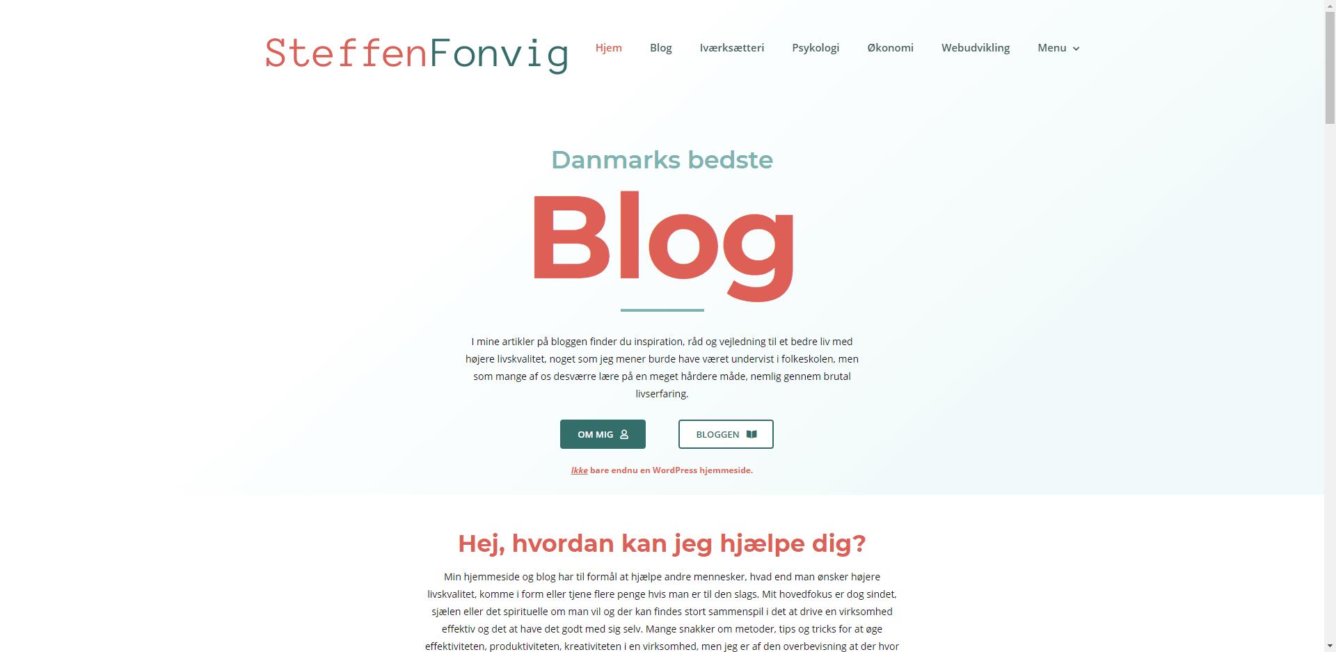 Steffenfonvig.dk