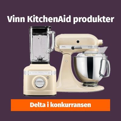 Vinn kitchenAid produkter